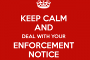 NEVER ignore an Enforcement Notice
