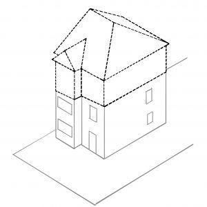 We just won the first ever appeal for Class AA upwards extensions to a dwellinghouse!